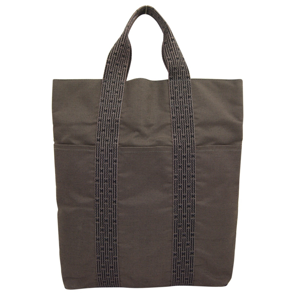 Hermès Herline Brown Cloth handbag for Women \N