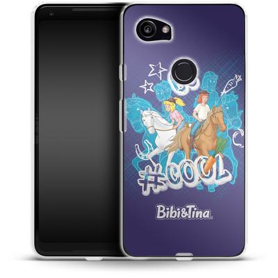 Google Pixel 2 XL Silikon Handyhuelle - Bibi und Tina Be Cool von Bibi & Tina