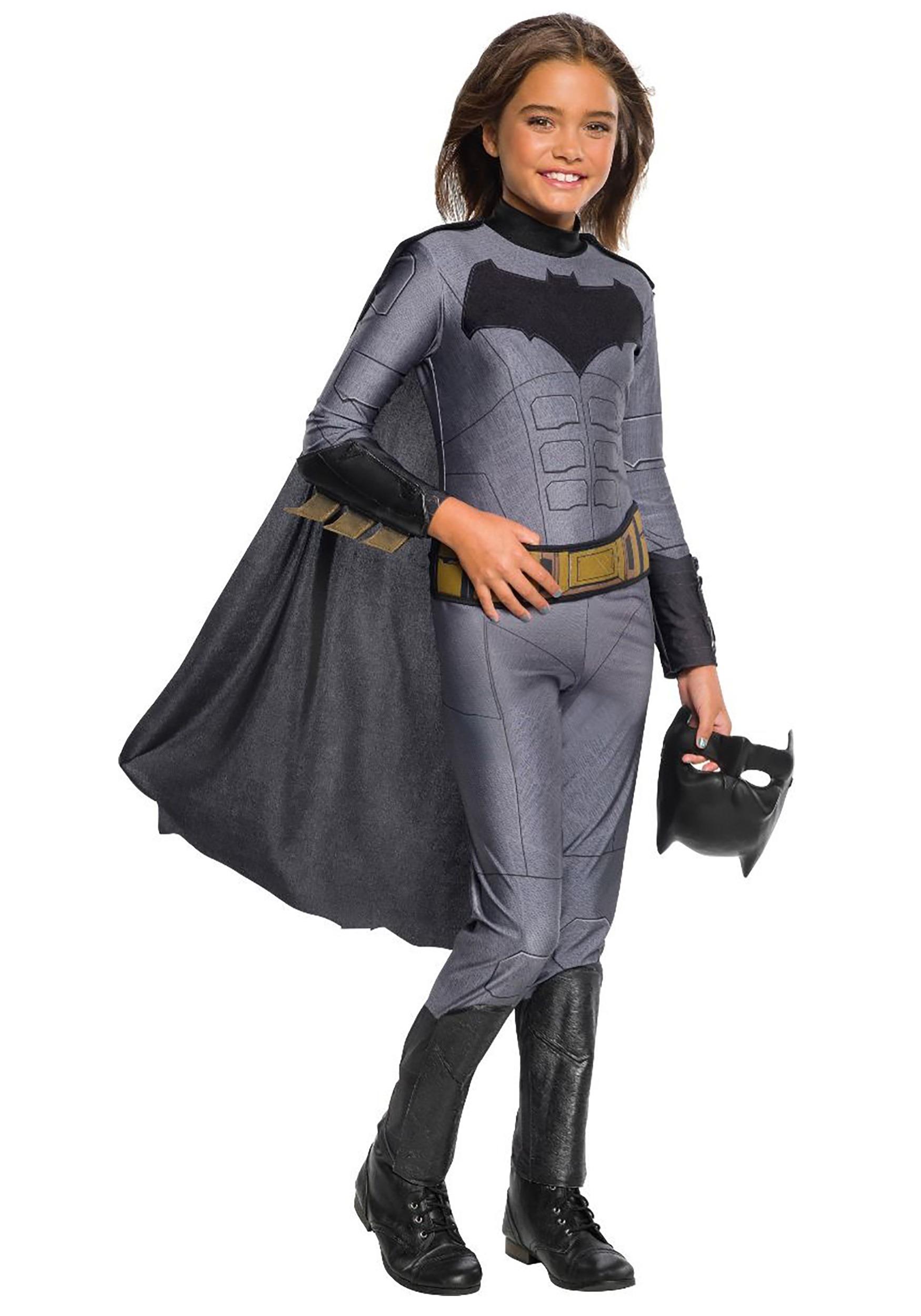 Batman Girls Jumpsuit Costume