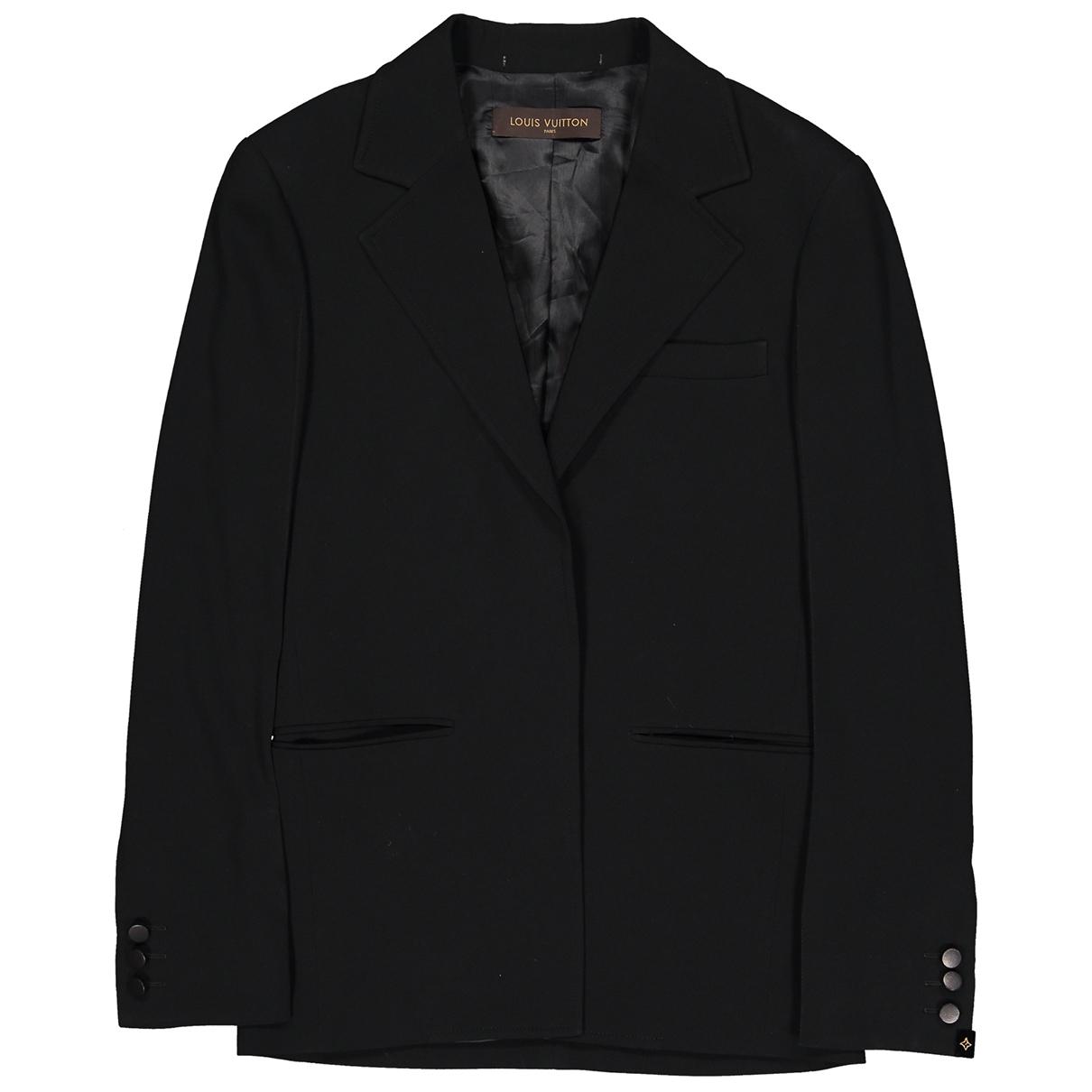 Louis Vuitton - Veste   pour femme en laine - noir