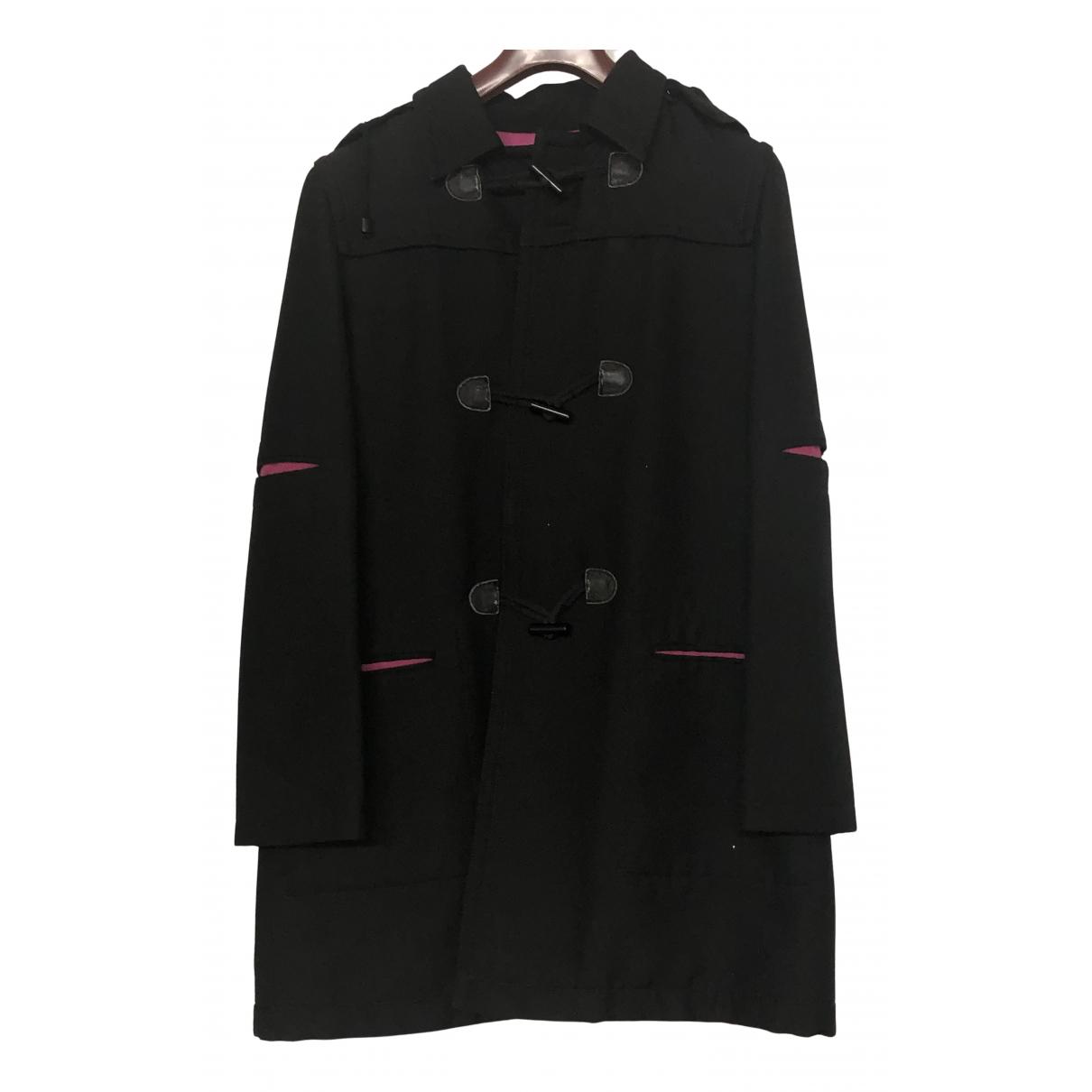 Armani Jean - Manteau   pour femme en coton - noir