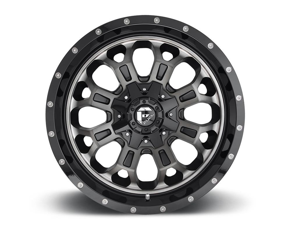 Fuel D561 Crush Gloss Black w/ Double Dark Tint 1-Piece Cast Wheel 22x12 8x170 -44mm