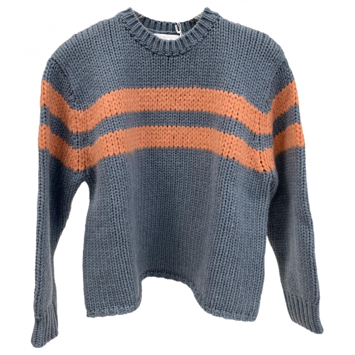 Stella Mccartney \N Pullover, StrickJacke in  Grau Wolle