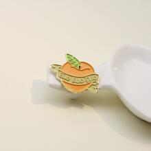 Brosche mit Obst Design