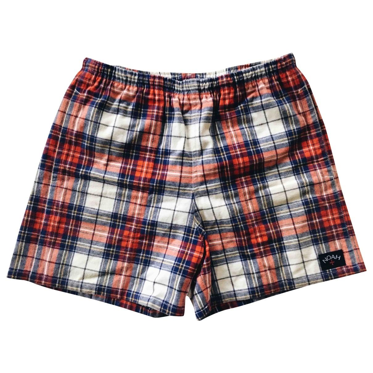 Noah \N Shorts in  Bunt Baumwolle