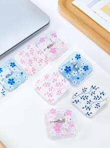 4pcs Transparent Random Clip
