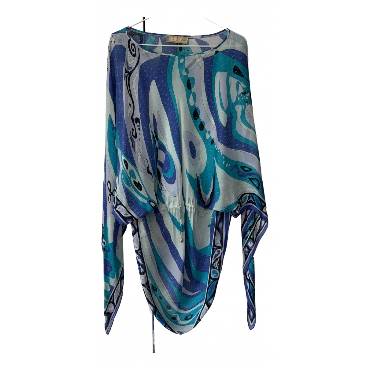 Emilio Pucci \N Blue Silk  top for Women One Size IT