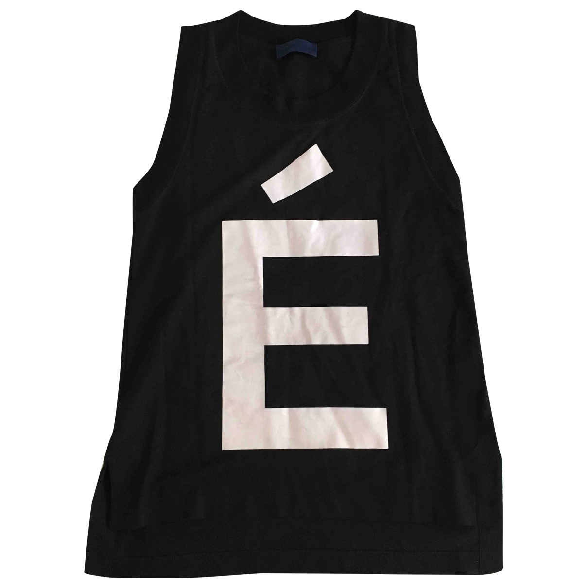 Études Studio \N Black Cotton T-shirts for Men S International