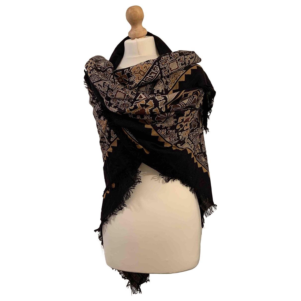 Gucci - Foulard   pour femme en laine - noir