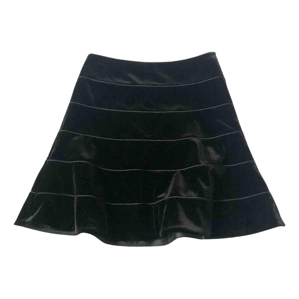 Giorgio Armani - Jupe   pour femme en velours - noir