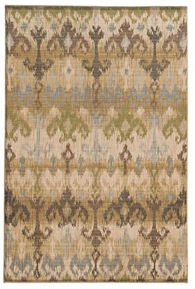V8122W160230ST Rectangle 5 3 X  7 6 Rug Pad with Abstract Pattern and Machine Woven