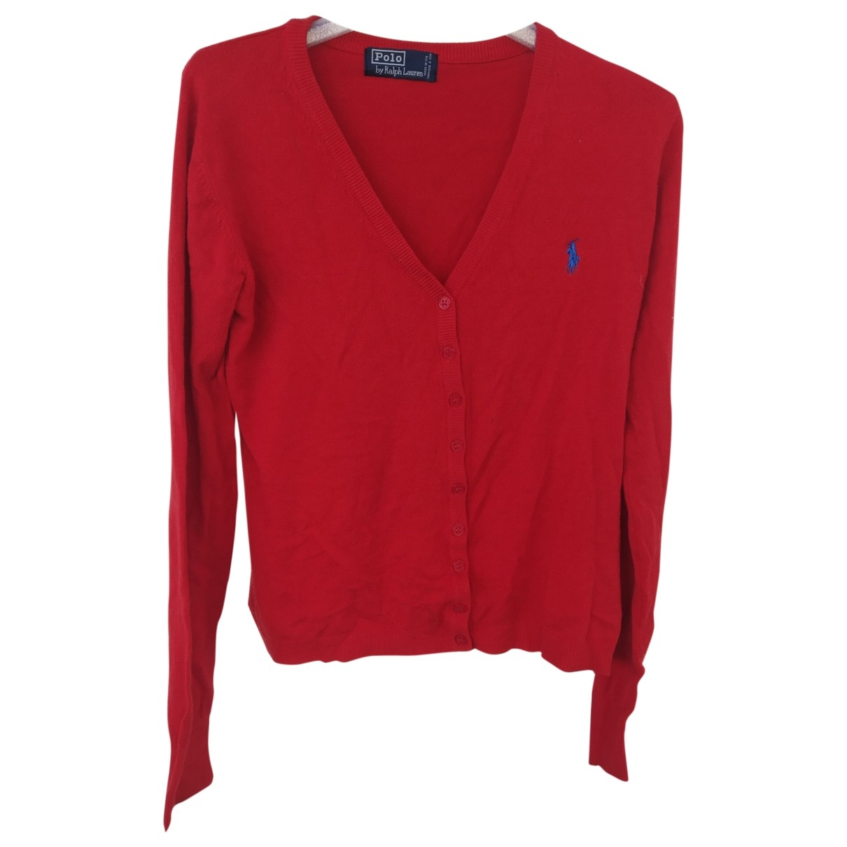Polo Ralph Lauren \N Pullover in  Rot Wolle