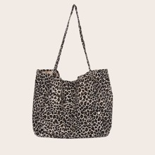 Tragetasche mit Leopard Muster