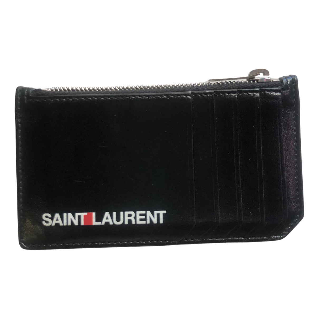 Saint Laurent N Black Leather Small bag, wallet & cases for Men N