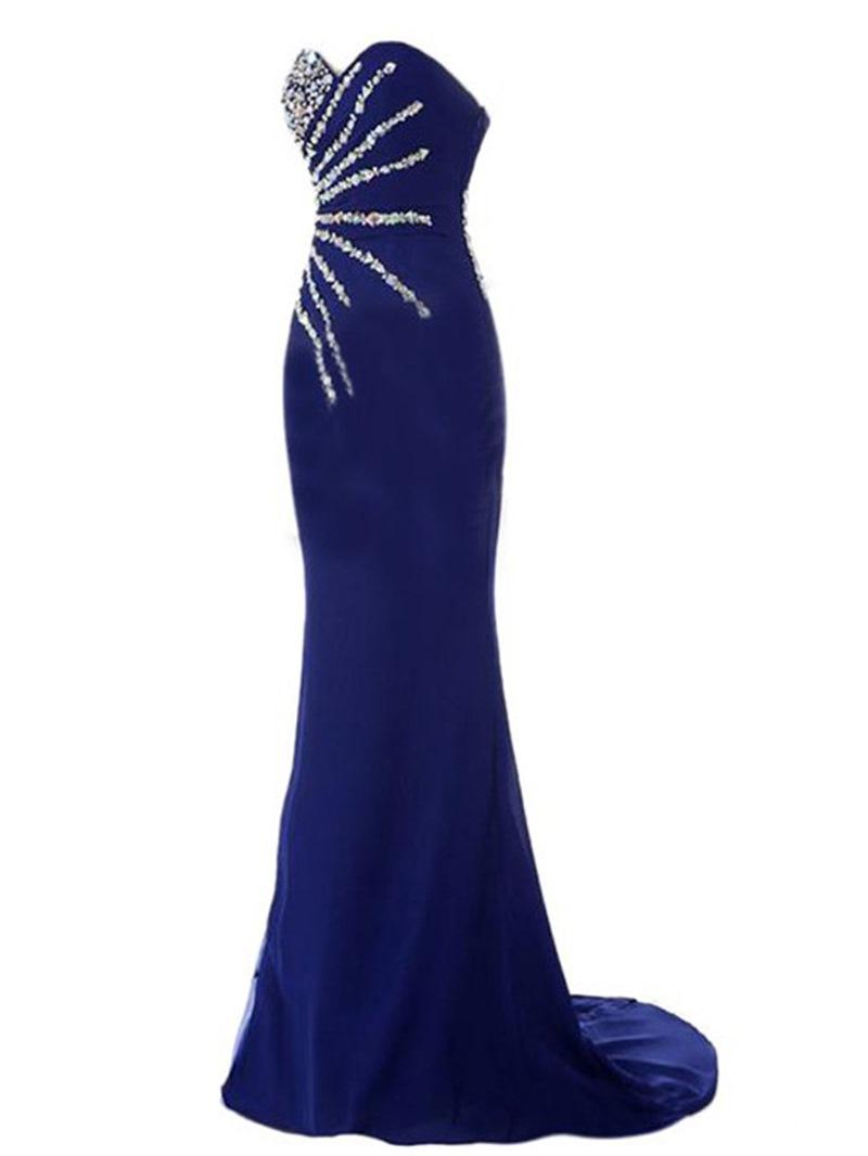 Ericdress Sweetheart Beaded Sheath Evening Dress