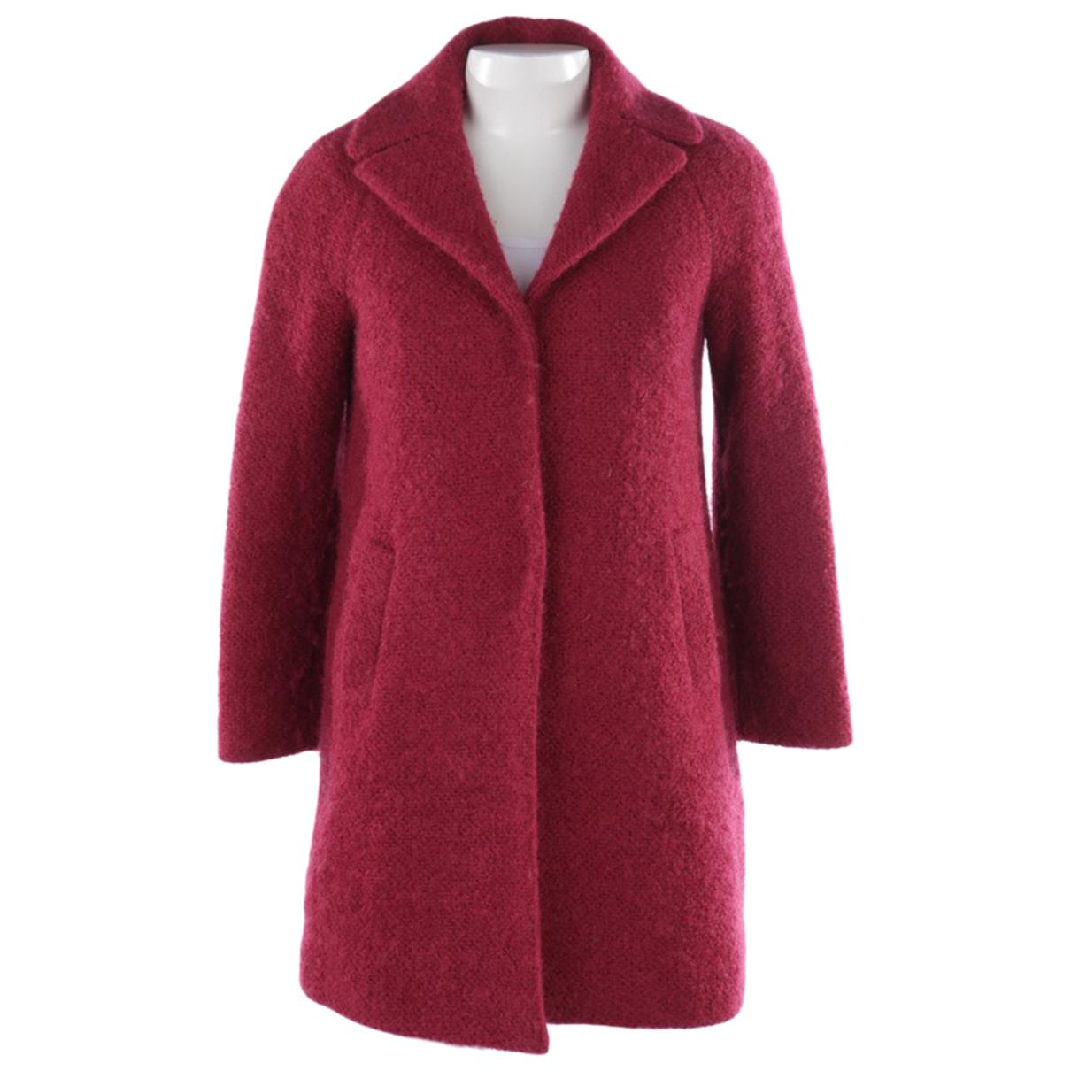 Autre Marque - Veste   pour femme en laine - rouge