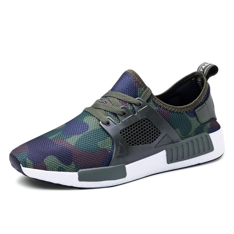 Ericdress Mesh Camouflage Round Toe Men's Sneakers