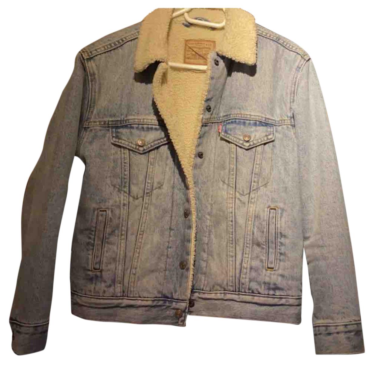 Levi's N Blue Denim - Jeans jacket for Women 36 FR