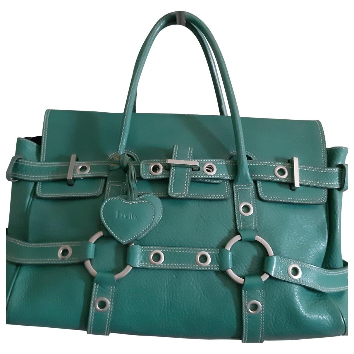 Luella \N Green Leather handbag for Women \N