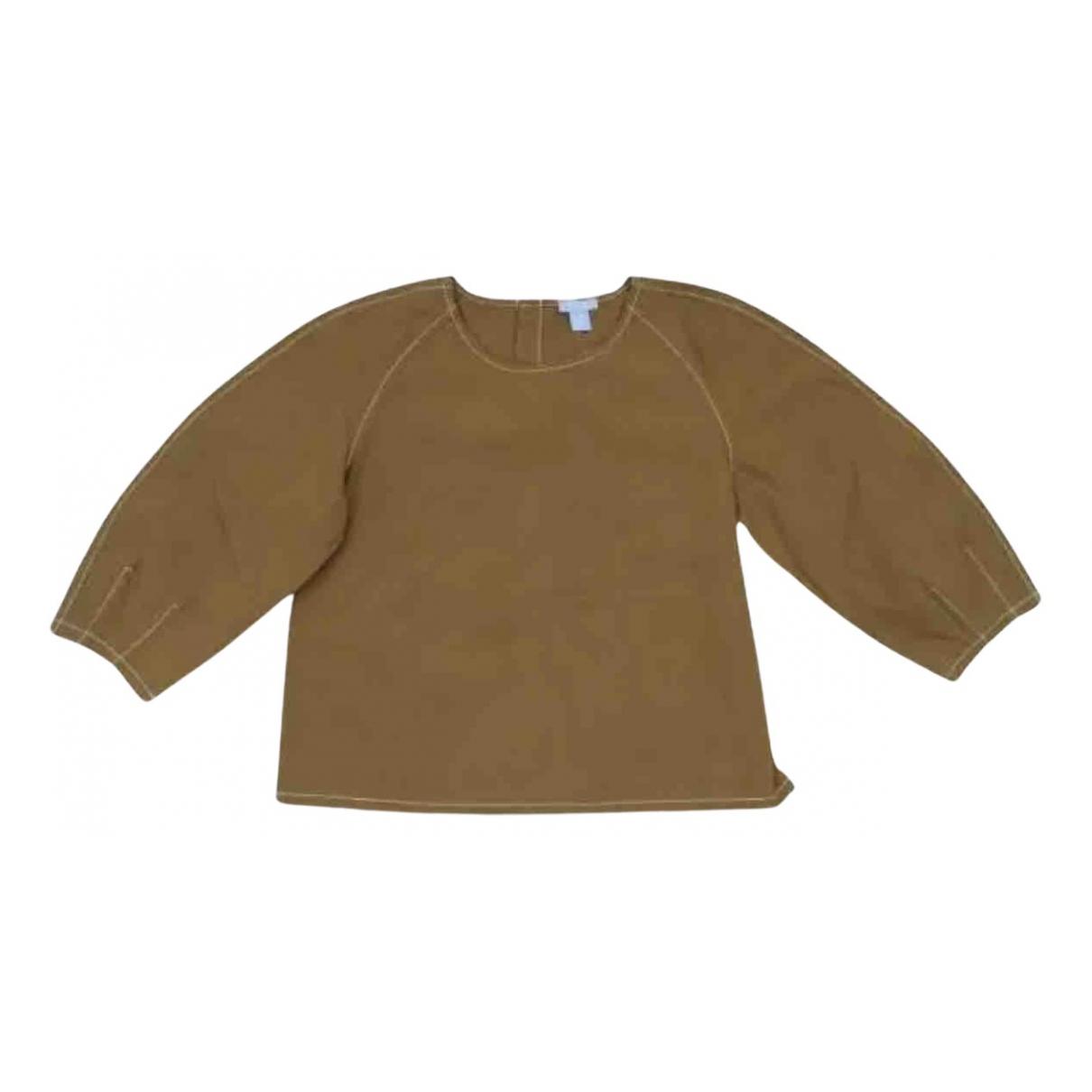 Cos - Top   pour enfant en coton - camel