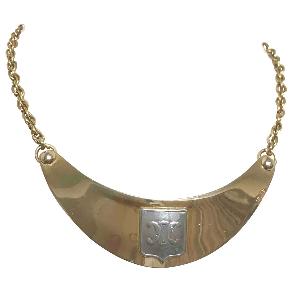 Celine \N Gold Gold plated necklace for Women \N