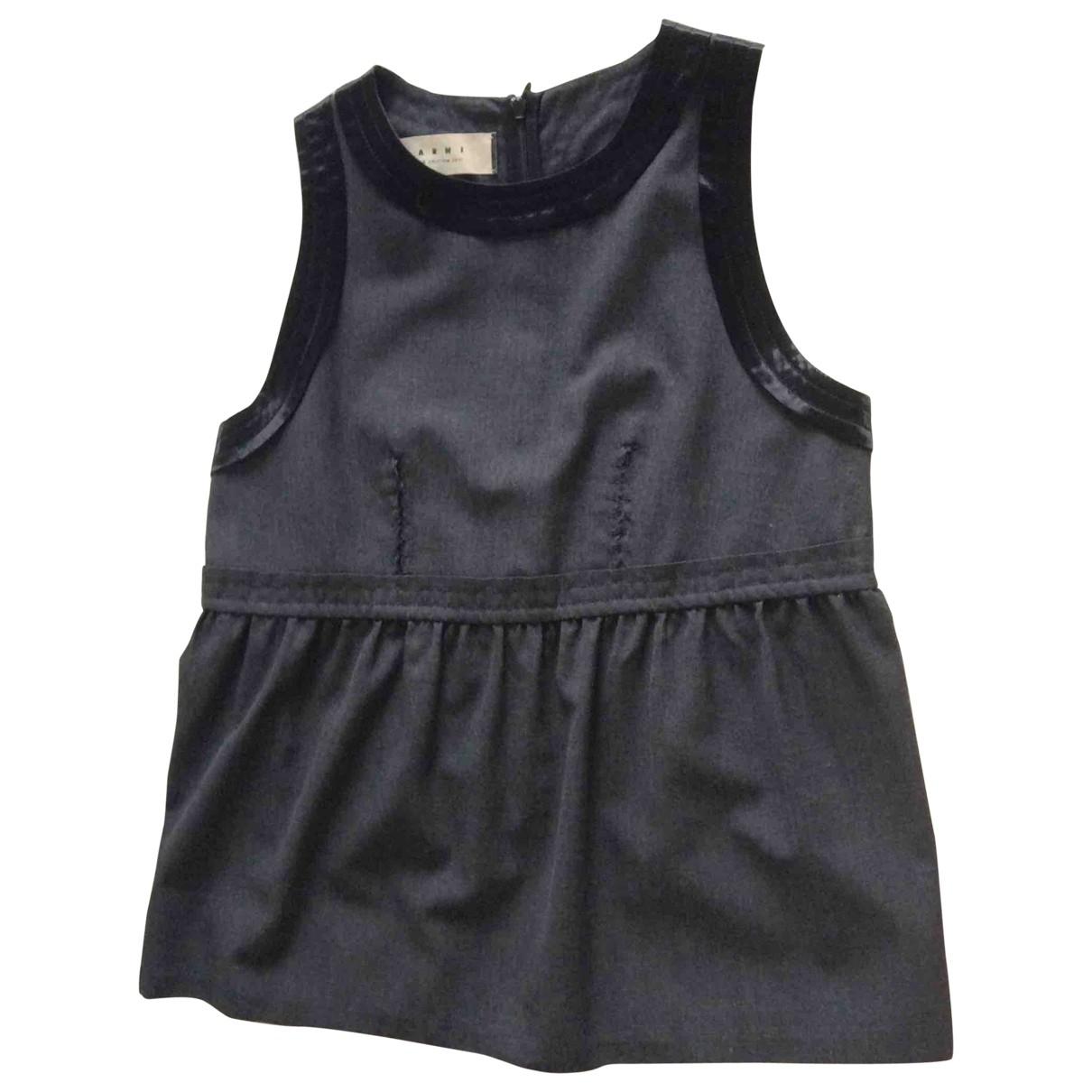 Marni - Top   pour femme en laine - gris