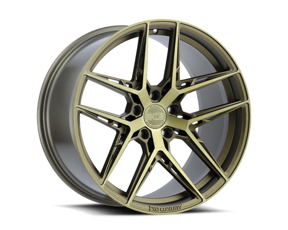 XO Luxury Cairo Wheel 21x9 5x120 30mm Bronze w/ Brushed Bronze Face