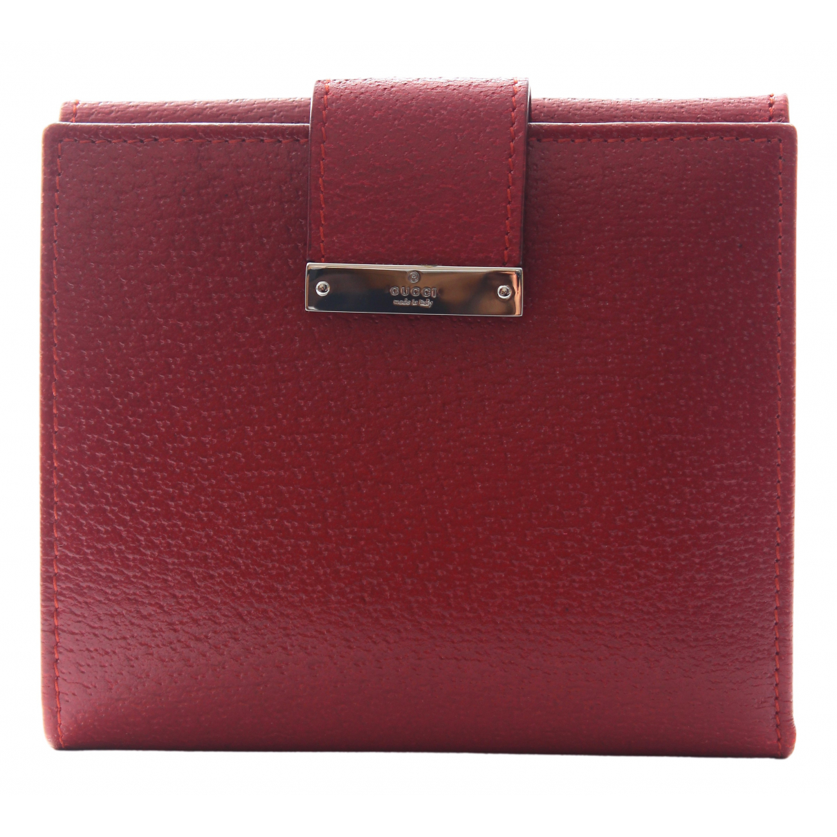 Gucci N Red Leather wallet for Women N