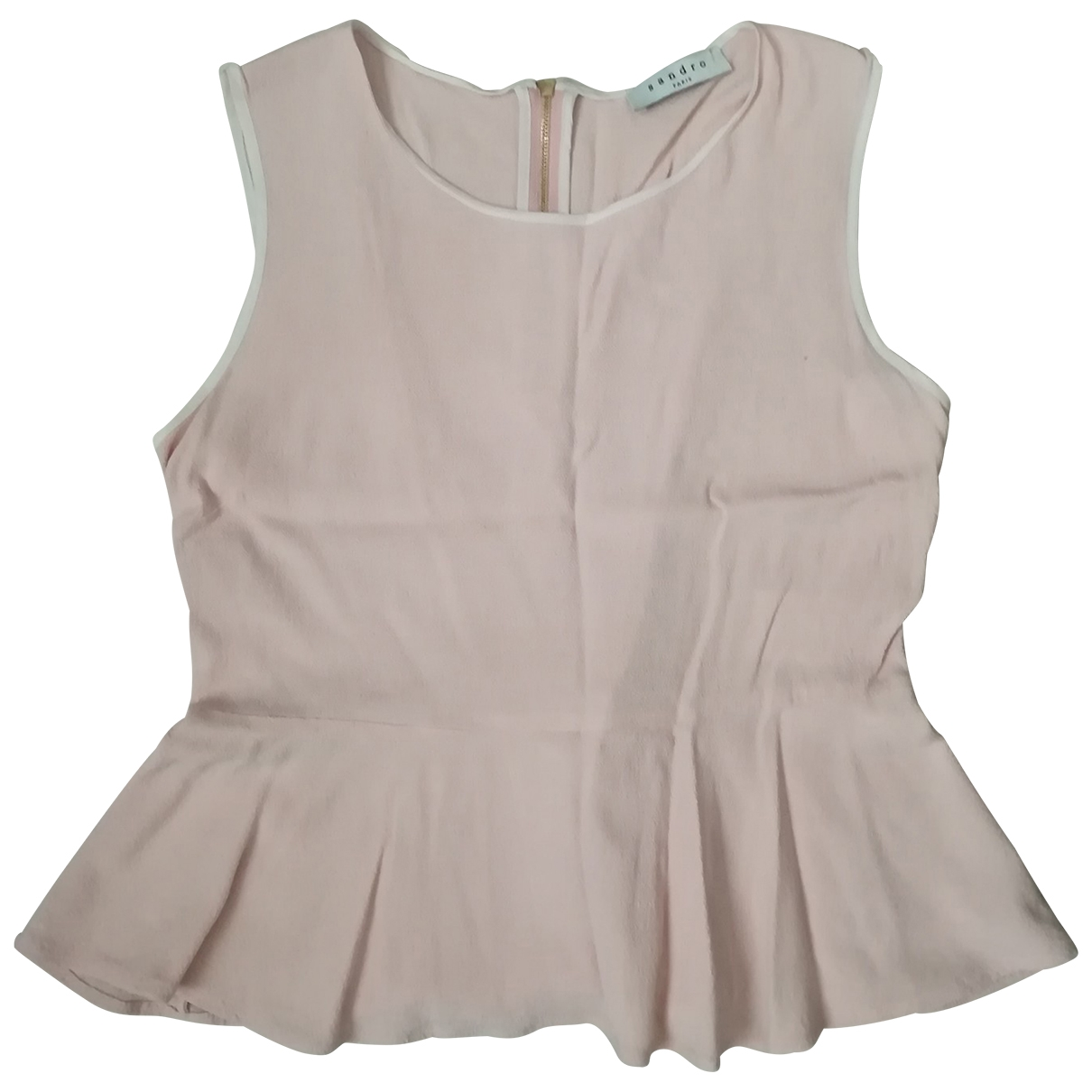 Sandro \N Pink  top for Women 2 0-5