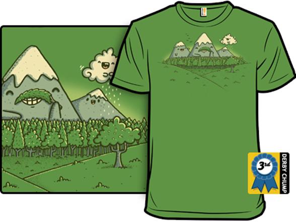 Naturestache T Shirt