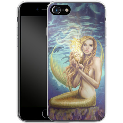 Apple iPhone 8 Silikon Handyhuelle - Selina Fenech - Holding Magic von TATE and CO