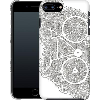Apple iPhone 7 Plus Smartphone Huelle - Bike Drawing Meditation von Kaitlyn Parker