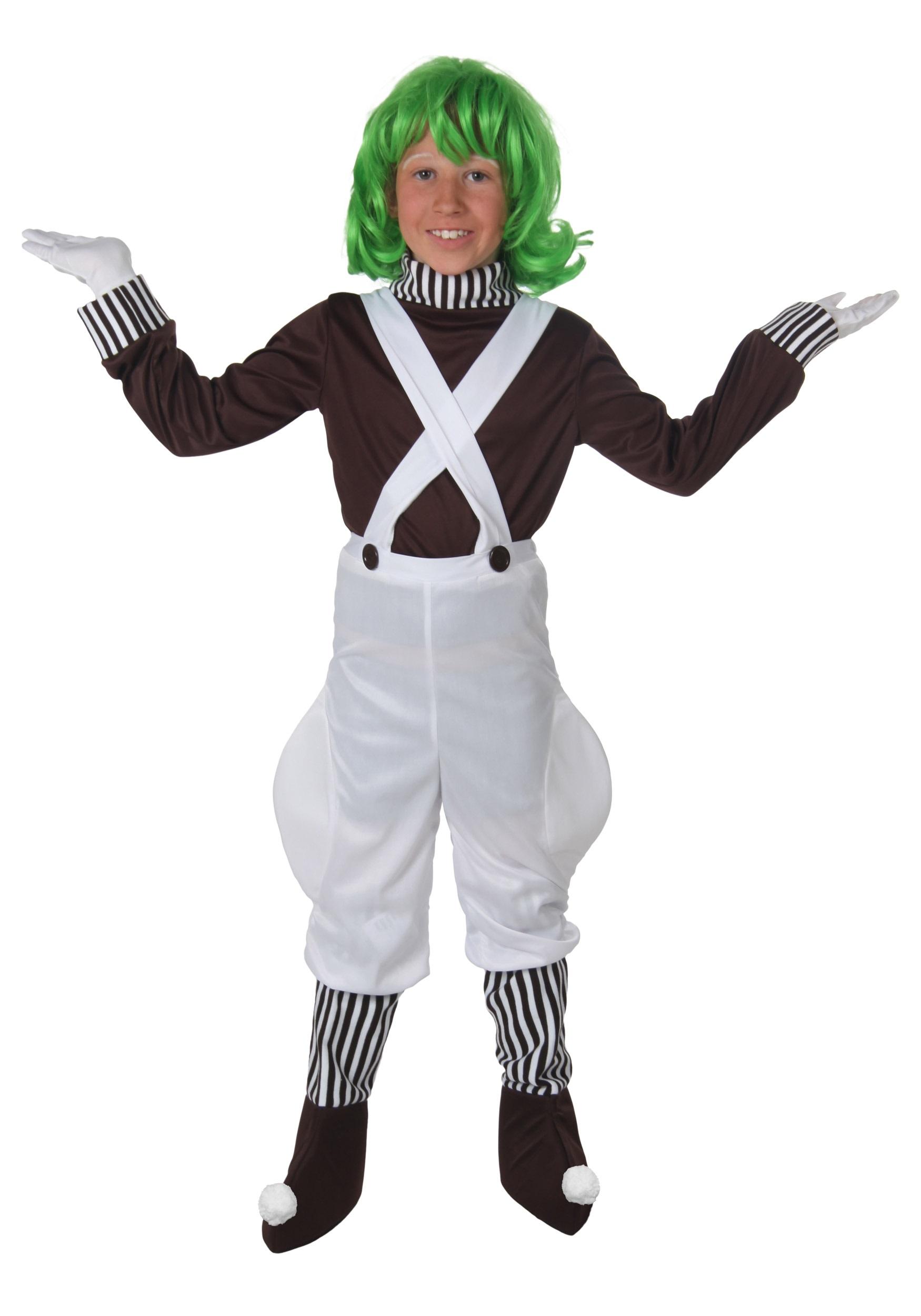 Chocolate Factory Worker Kids Costume