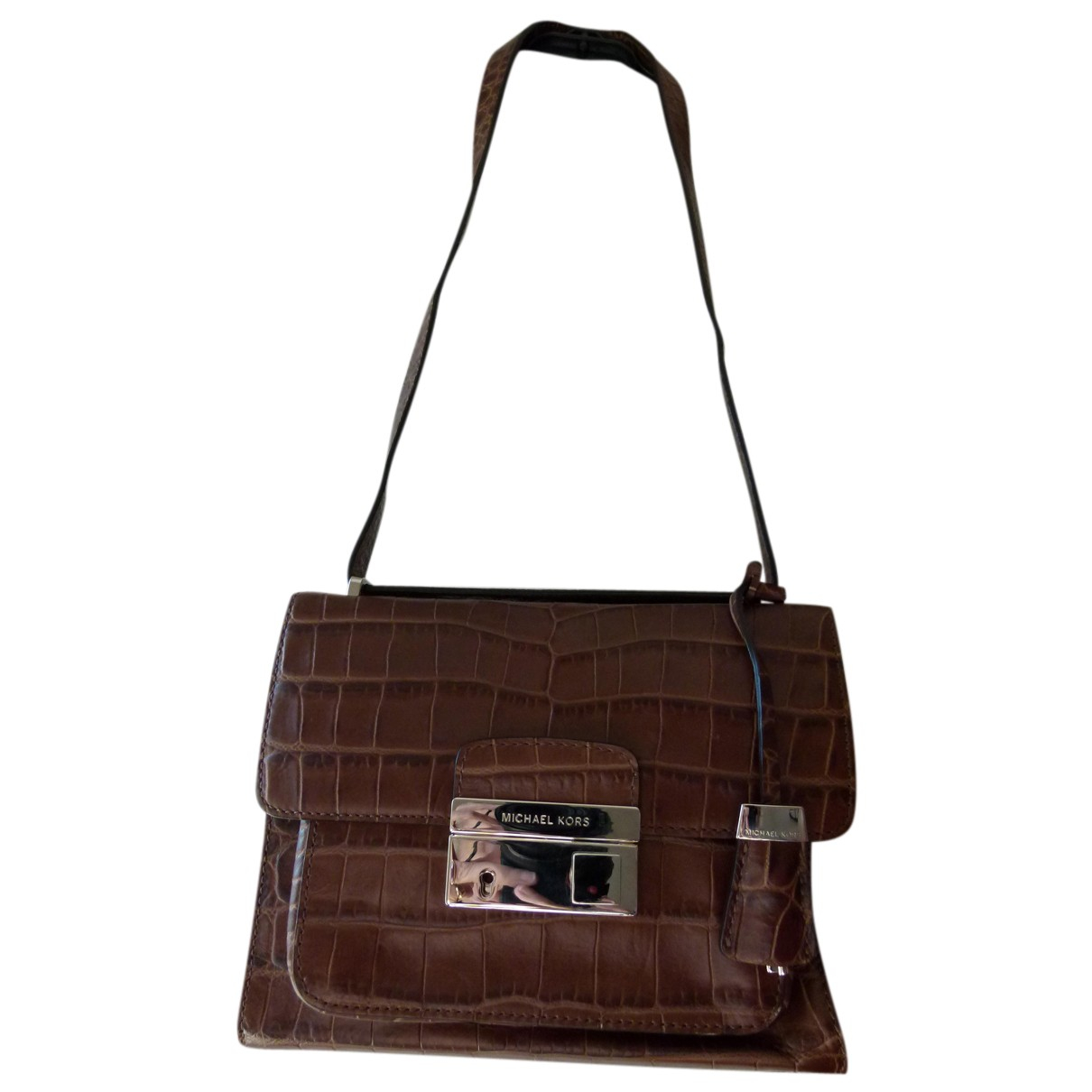 Michael Kors N Brown Leather handbag for Women N