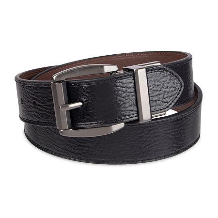 Levi's Big & Tall Reversible Leather Belt, Xxl (46-48) , Black