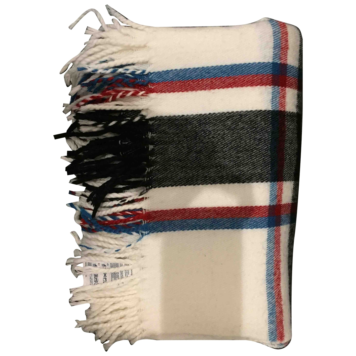 Tommy Hilfiger \N White Wool scarf & pocket squares for Men \N