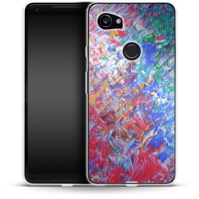 Google Pixel 2 XL Silikon Handyhuelle - Macro 6 von Gela Behrmann