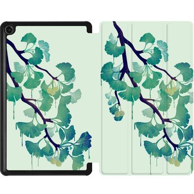 Amazon Fire 7 (2017) Tablet Smart Case - Ginko Green von Little Clyde