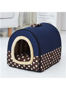 Pet Kennel Dog Cat House Mat Cave Soft Bed Washable Pad Puppy Cushion Removable And Washable!!