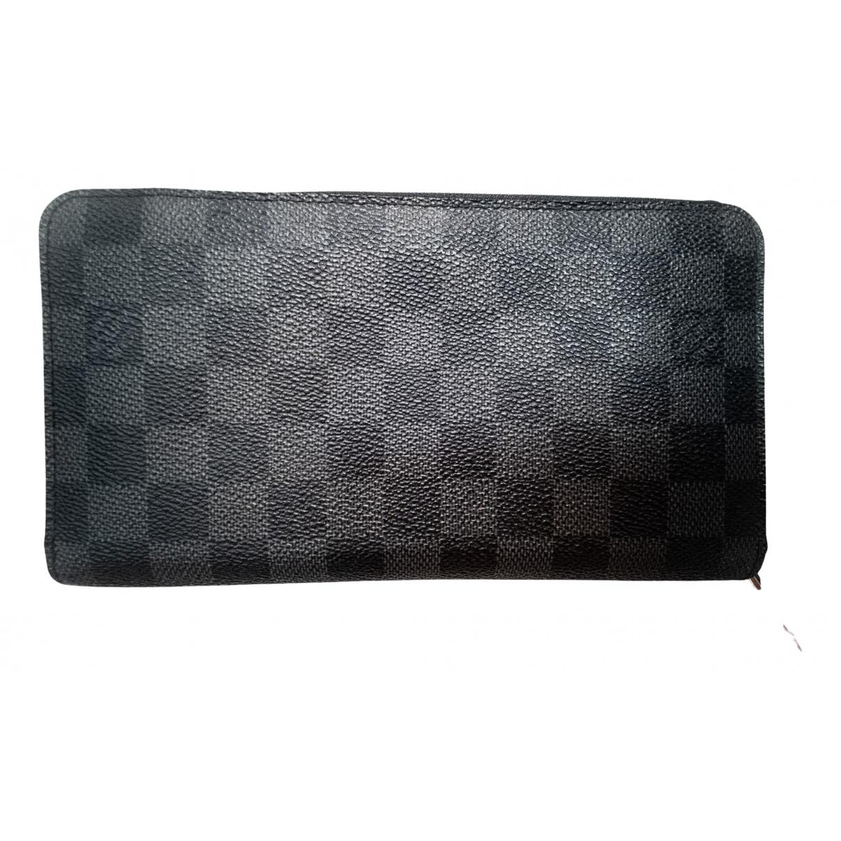 Louis Vuitton Zippy Anthracite Cloth wallet for Women \N