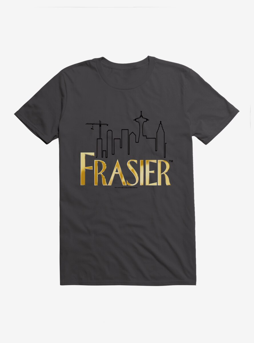 Frasier Gold Logo Outline T-Shirt