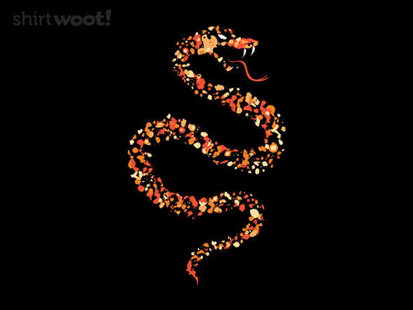 Orange Serpent T Shirt