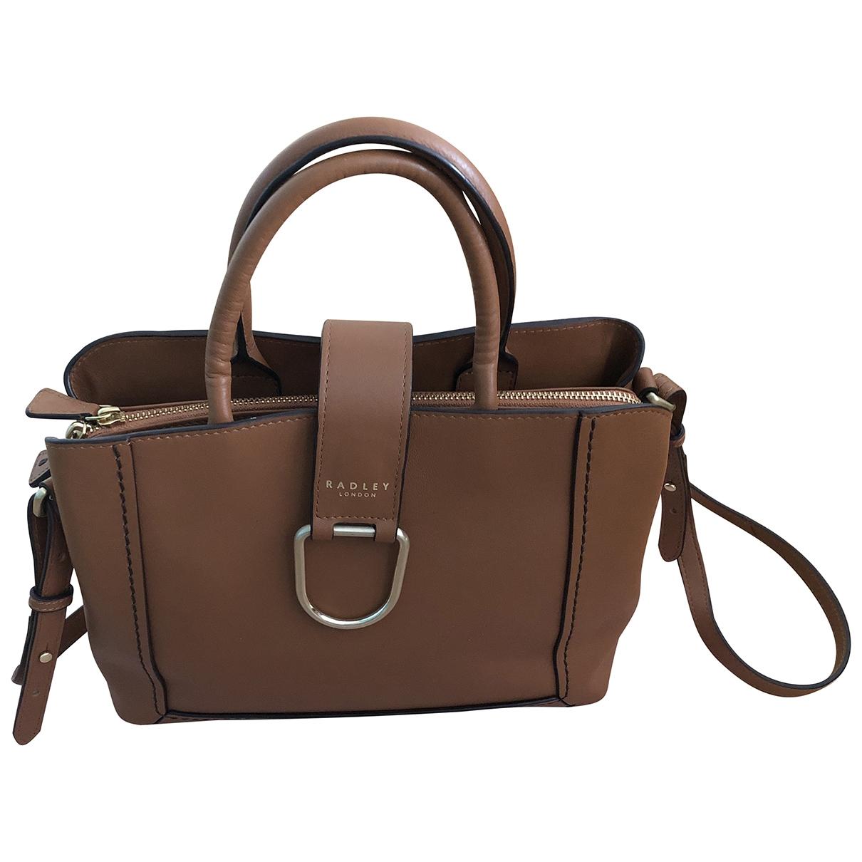 Radley London \N Camel Leather handbag for Women \N