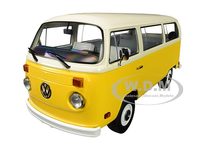 1978 Volkswagen Type 2 (T2) Bus Yellow with White Top
