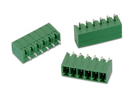 Wurth Elektronik , WR-TBL, 3211, 7 Way, 1 Row, Vertical PCB Header (465)