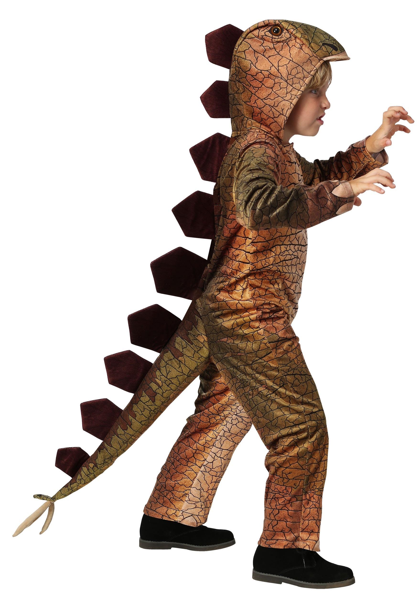 Spiny Stegosaurus Costume for Kids | Kids Dinosaur Costume