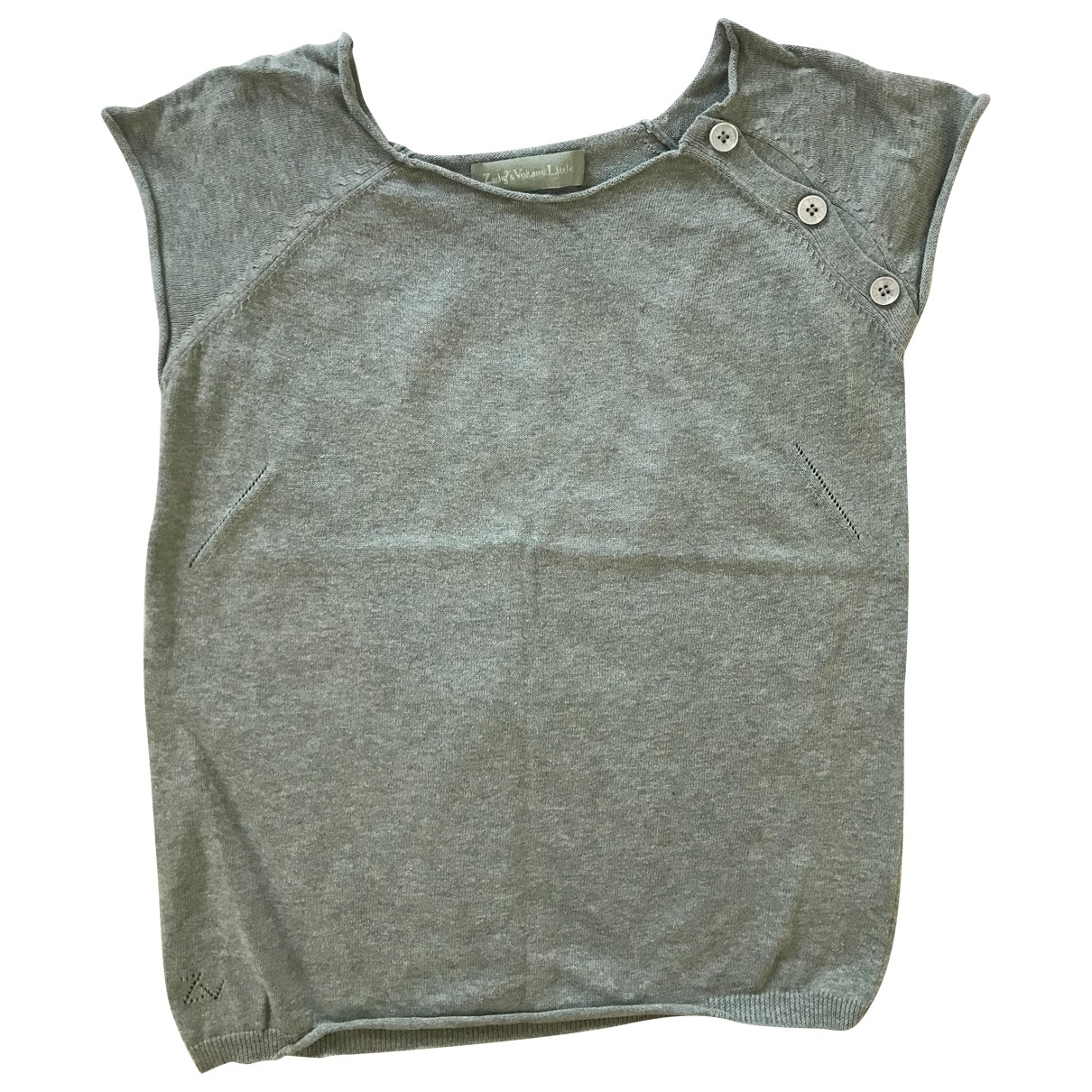 Zadig & Voltaire \N Green Cotton  top for Kids 12 years - XS FR