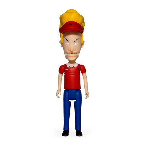 Beavis & Butt-Head Burger World Beavis 3 3/4-Inch ReAction Figure
