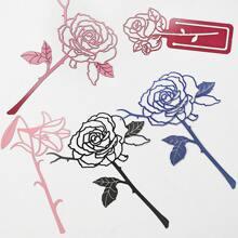 1pc Rose Shaped Random Bookmark