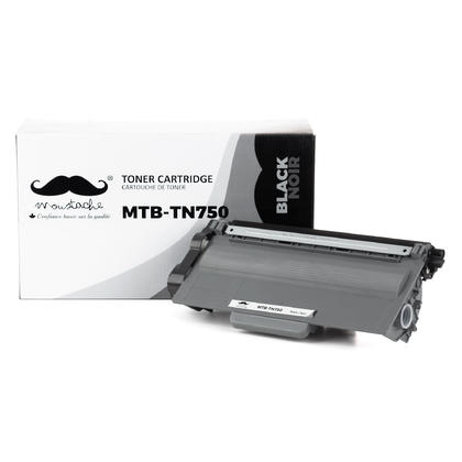 Compatible Brother MFC-8710DW Black Toner Cartridge by Moustache, High Yield